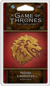 A Game of Thrones : The Card Game (Second Edition) - House Lannister Intro Deck
